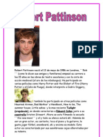 biografia de robert pattinson