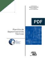 109103705 Plantilla Especificaciones Tecnicas