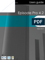 Episode Pro User Guide