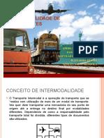 SLIDES - INTERMODALIDADE DE TRANSPORTES.ppt