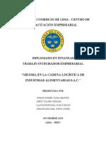 TIE - INDUSTRIAS ALIMENTARIAS S.A.C. 27.10
