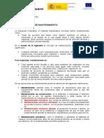 MANTENIMIENTO (resumen)