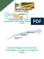 Synthèse doc Conseil Ministre Kolda final