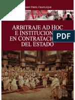 LIBRO ARBITRAJE EN CONTRATACIÓN PÚBLICA. MG JIMMY PISFIL CHAFLOQUE CEL 978075092 ÁRBITRO OSCE .pdf