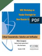 CC Selection Presentation NRC