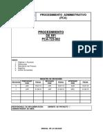 PCA-723-002 Procedimiento de RFI Rev 1