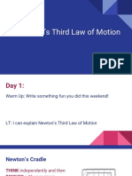 3 Newtons Third Law of Motion
