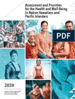 Assessment & Priorities for the Health and Well-Being in Native Hawaiians and Pacific Islanders