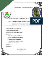 Empresas del Estado- Derecho Administrativo I.