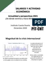 Presentación sobre Empleo, Salario y Actividad Económica
