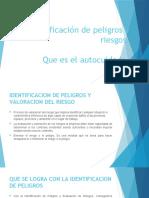 6 IDENTIFICACION DE PELIGROS Y AUTOCUIDADO