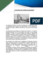 Evolucion historica del derecho aduanero