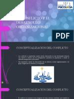 EL CONFLICTO Y EL DESARROLLO ORGANIZACIONAL