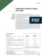 evaluaciones articulares y clinicas de la rodilla