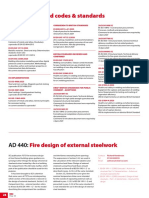 AD 440 -  Fire design of external steelwork, May 2020