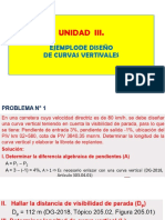 EJEMPLODE DISEÑO DE CURVAS VERTICALES