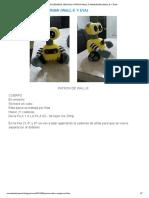 NOVEDADES JENPOALI_ PATRON WALL-E AMIGURUMI (WALL-E Y EVA)