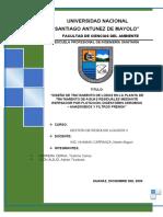 INFORME - TRATAMIENTO DE LODOS - LEON-HERRERA 2020