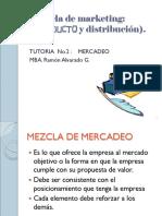 TUTORIA No.2  Mezcla de marketing (producto-distribucion)