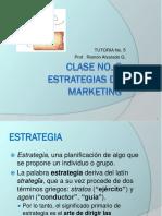 Tutoria  No.5  Estrategias de marketing