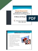 The Risk IT Framework(ETG)