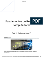 Aula 5 - Endereçamento IP