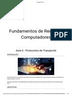 Aula 6 - Protocolos de Transporte
