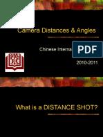 Camera angles & distances