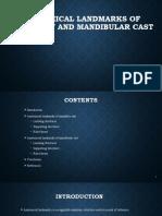 Anatomical landmarks of maxillary and mandibular cast (1).pptx