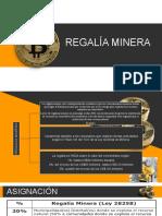 REGALIAS MINERAS Y EL APORTE DE LA MINERIA EN EL PBI