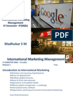 International Marketing - Lesson Plan