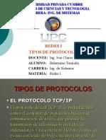 Tipos de Protocolos de REd