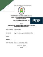 ANALISIS DISEÑO CURRICULAR MINEDU1