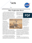 NASA Facts Mars Exploration Rover 2000