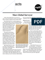 NASA Facts Mars Global Surveyor