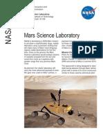 NASA Facts Mars Science Laboratory 2005