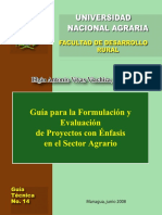 34. Formulación de proyectos UNA 1