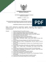 Instruksi Gubernur Dki Jakarta Nomor 64 Tahun 2020 Tentang Pelaksanaan Pengendalian Kegiatan Masyarakat Dalam Pencegahan Covid-19 Di Masa Libur Hari Raya Natal 2020 Dan Tahun Baru 2021