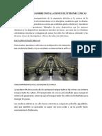 Generalidades Sobre Instalaciones Electromecánicas