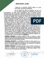 Resolución  34-2020