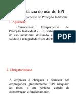 A Importância do uso do EPI.ppt