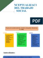 RECONCEPTUALIZACIÓN DEL TRABAJO SOCIAL