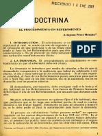Documento Sobre el referimiento Artagnan perez