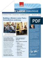 Country Labor Dialogue - March 2009