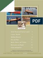 Wooden Canoe f