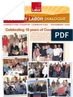 Country Labor Dialogue - Special Conference Edition