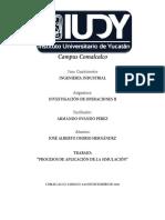 JAOH - PROCESOS DE APLICACIÓN DE LA SIMULACIÓN