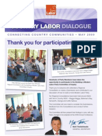 Country Labor Dialogue - May 2009
