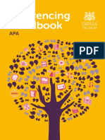 APA Referencing Handbook