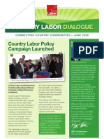 Country Labor Dialogue - June 2009